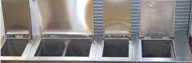 équipements de nettoyage à ultrasons